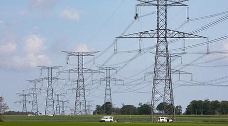 Pylônes electrique RTE