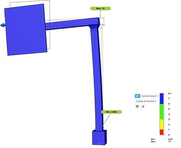 Deformation monitoring of an asset using IoT sensors